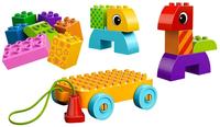Lego Duplo Kleinkind 10554 - Nachzieh-Spielset (Mehrfarbig)