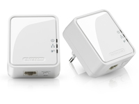 Sitecom LN-551 PowerLine Netzwerkadapter (Weiß)