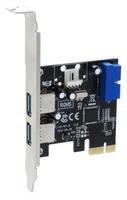 Sedna 4x USB3.0 PCI-E (Silber)
