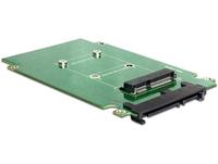 DeLOCK 62432 Schnittstellenkarte/Adapter (Schwarz, Grün)