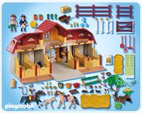 Playmobil 5221 - Großer Reiterhof mit Paddocks (Mehrfarbig)