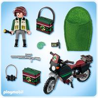 Playmobil 5237 - Dinoforscher mit Geländemaschine (Mehrfarbig)