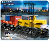 Playmobil 5258 Neuer RC-Güterzug mit Licht & Sound (Mehrfarbig)
