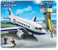 Playmobil 5261 - Cargo- und Passagierflugzeug (Mehrfarbig)