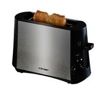 Cloer 3890 Toaster (Schwarz, Edelstahl)