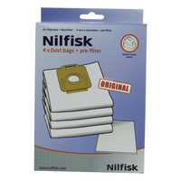 Nilfisk Power Series Dustbags (Weiß)