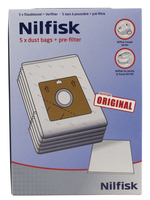 Nilfisk Two-Ply Dust Bags (Weiß)
