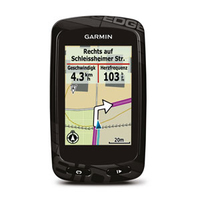 Garmin Edge 810 (Schwarz, Karbon)