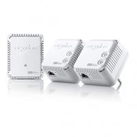 Devolo dLAN 500 WiFi Network Kit (Weiß)