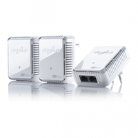 Devolo dLAN 500 duo Network Kit (Weiß)