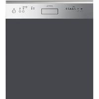 Smeg PL6448XD2 Spülmaschine (Grau, Edelstahl)