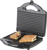 Korona 47016 Sandwichmaschine (Schwarz, Edelstahl)