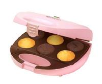 Bestron DCM8162 Cupcake- und Donut-Maker (Pink)