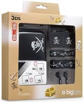 Big Ben Full Pack Pirates, Nintendo 3DSXL (Schwarz, Weiß)