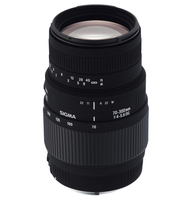 Sigma 70-300mm F4-5.6 DG Macro (Schwarz)