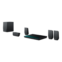 Sony BDV-E2100 3D Blu-ray Home Entertainment-System (Schwarz)
