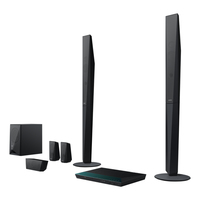 Sony BDV-E4100 3D Blu-ray Home Entertainment-System (Schwarz)