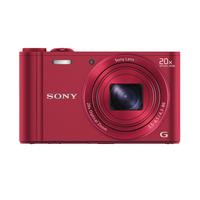 Sony Digitale Kompaktkamera WX300 (Rot)