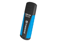 Transcend JetFlash 810 32GB USB 3.0 32GB USB 3.0 Schwarz, Blau USB-Stick (Schwarz, Blau)