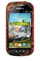 Samsung Galaxy Xcover 2 GT-S7710 4GB Schwarz, Rot (Schwarz, Rot)