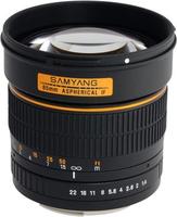 Samyang 85mm f/1.4 IF MC Aspherical (Schwarz)