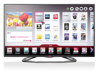 LG 55LA6208 LED TV (Schwarz)
