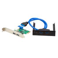 iTEC PCE22U3EXT Schnittstellenkarte/Adapter