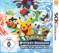 Nintendo Pokémon Mystery Dungeon: Gates to Infinity, 3DS