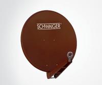 Schwaiger SPI075PR011 Satellitenantenne (Rot)