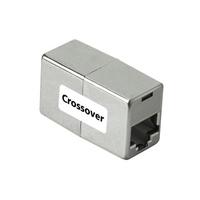 Hama CAT 5 Cross-Over Adapter 8p8c, 2x Jack (Grau)