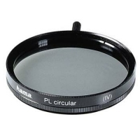 Hama Polarising Filter Circular, 46,0 mm, Coated, Black (Schwarz)