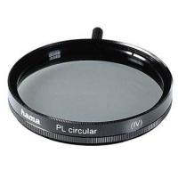 Hama Polarising Filter Circular, 46,0 mm, Coated, Black (Schwarz)
