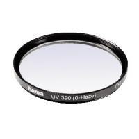 Hama UV Filter 390 (O-Haze), 55 mm, HTMC coated (Schwarz)