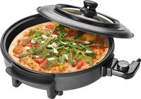 Clatronic PP 3402 Elektronische Pizzapfanne (Schwarz)