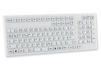 GETT KG19268 Tastatur (Weiß)