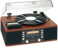 TEAC LP-R500A (Schwarz, Holz)
