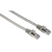 Hama 8p8c (RJ45) male plug - 8p8c (RJ 45) male plug (Grau)
