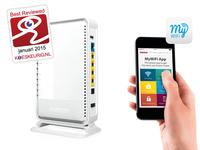 Sitecom WLR-7100 AC1200 Wi-Fi Dual-band Gigabit Router X7 incl. USB 2.0 Port (Weiß)
