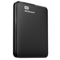 Western Digital 500GB Elements (Schwarz)