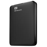 Western Digital WD Elements Portable 2000GB Schwarz Externe Festplatte (Schwarz)
