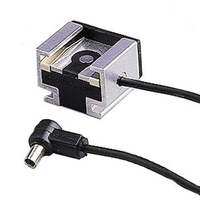 Hama Hot Shoe Adapter Cable (Schwarz)