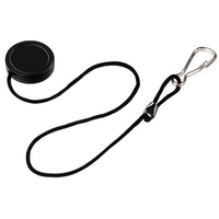 Hama Lens Cap Holder (Schwarz)