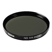 Hama Grey Filter, Grey x 4 D 0.60, 67,0 mm, HTMC Coated (Schwarz)