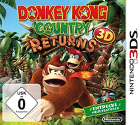 Nintendo Donkey Kong Country Returns, 3DS