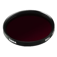 Hama Colour Infrared Black/White Filter Red R 8 (25A), 58,0 mm, HTMC Coated