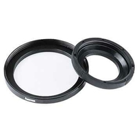 Hama Filter Adapter Ring, Lens Ø: 37,0 mm, Filter Ø: 49,0 mm (Schwarz)