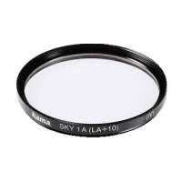 Hama Skylight Filter 1 A (LA+10), 82,0 mm, Coated (Schwarz)
