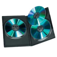Hama DVD-ROM-Triplebox, Schwarz, 5er-Pack
