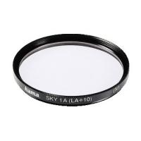 Hama Skylight Filter 1 A (LA+10), 58,0 mm, HTMC Coated (Schwarz)