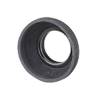 Hama Rubber Lens Hood for Standard Lenses, 77 mm (Grau)